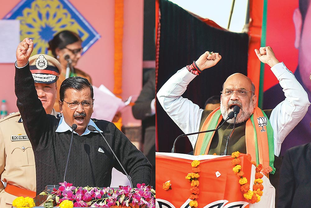 Shaheen Bagh Takes Centrestage As Delhi Polls Turn Into Shah vs Kejriwal Battle