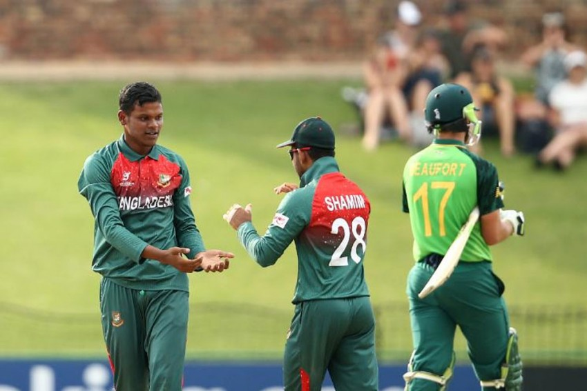 ICC U-19 Cricket World Cup: Spin Proves Key As Bangladesh Stun Hosts South Africa To Enter Semis