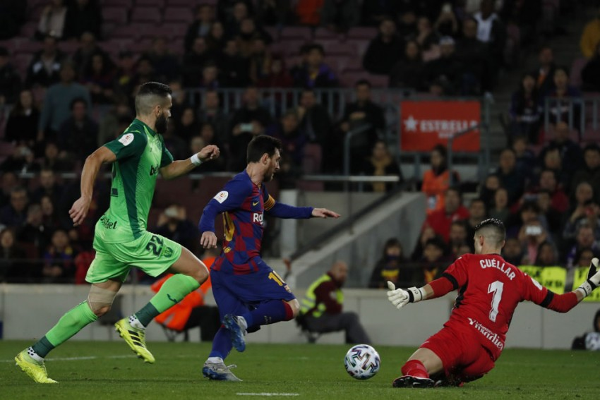 Barcelona 5-0 Leganes: Magnificent Lionel Messi At The Double In Copa Del Rey Cruise