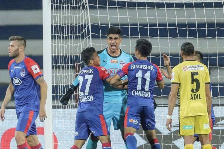 ISL: Brilliant Gurpreet Singh Sandhu Hands Bengaluru FC Three Points Against Hyderabad