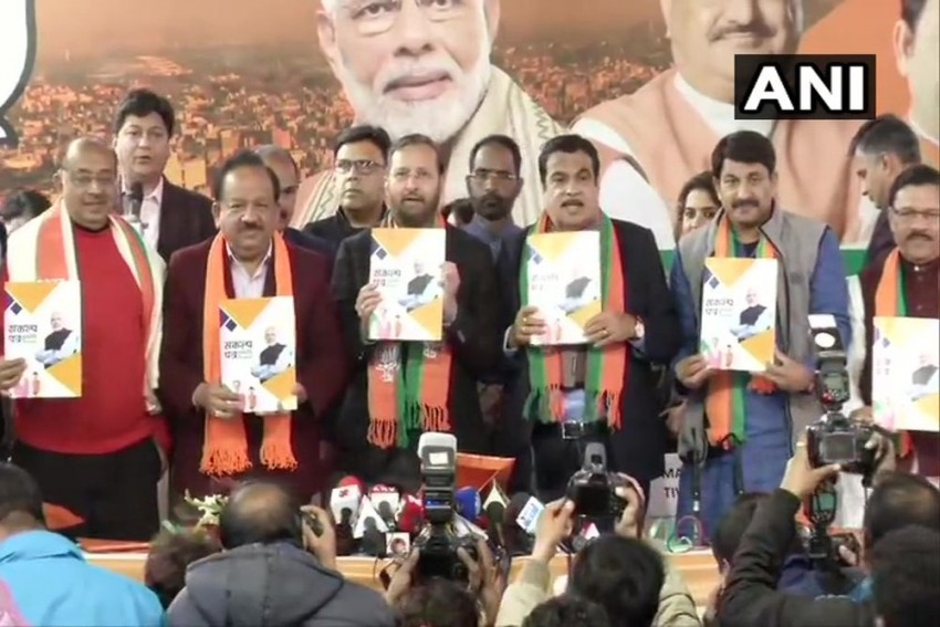 'Future Of Delhi Will Be Changed': BJP Releases Manifesto For Assembly Elections
