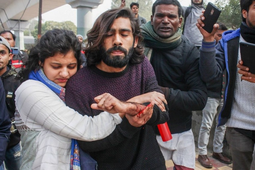 Jamia VC Says University To Pay For Injured Student's Treatment, Alleges Police Inaction During Firing
