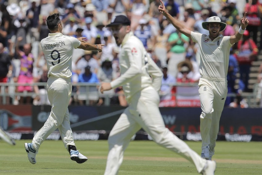 SA Vs ENG, 2nd Test: James Anderson Leads The Way As England Rattle South Africa On Day 2