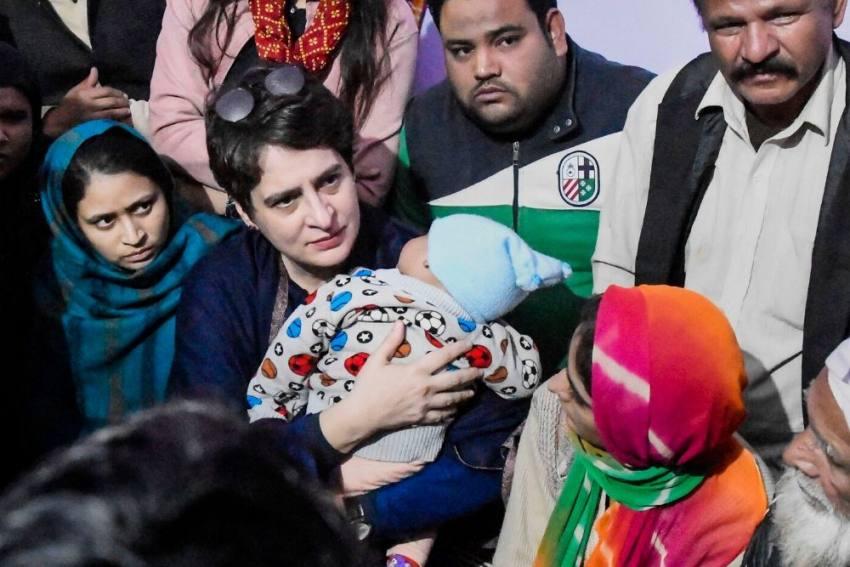 Anti-CAA Protests: Priyanka Gandhi Meets Affected Families In Muzaffarnagar, Meerut