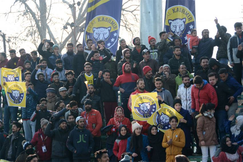 Real Kashmir Count On Home Support For Big I-League Clash Versus Mohun Bagan