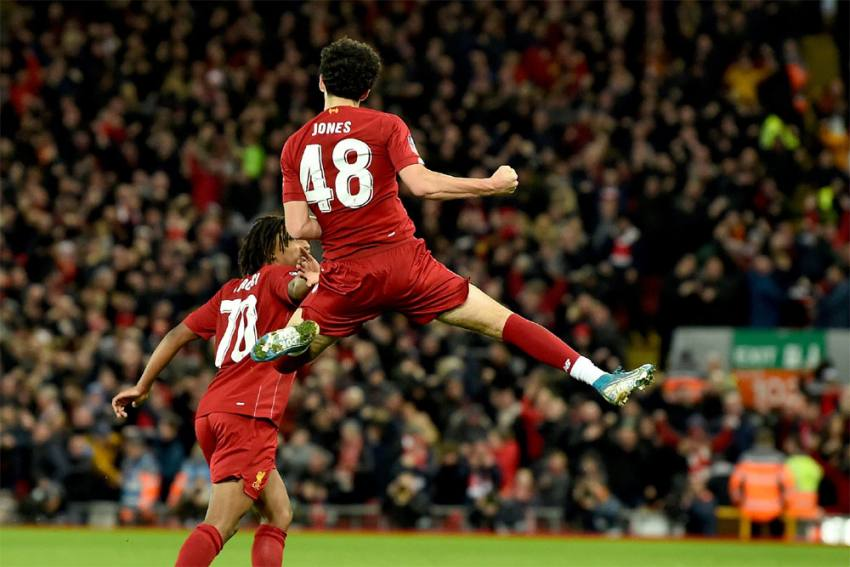 FA Cup   Liverpool 1-0 Everton: Curtis Jones Stunner Sees Young Reds Past Merseyside Rivals