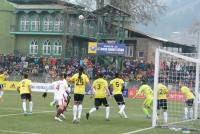 Mohun Bagan Tame Scrappy Real Kashmir, Climb To Pole Position in I-League