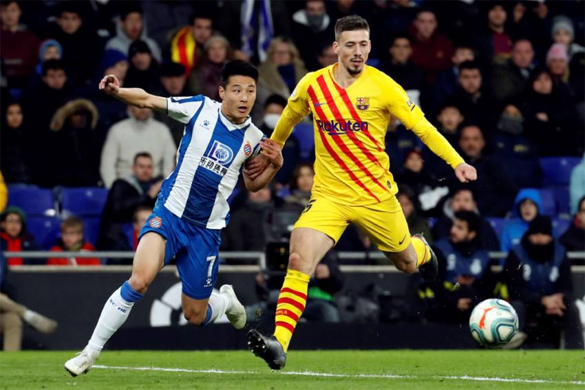 La Liga | Espanyol 2-2 Barcelona: Wu Lei Becomes First-Ever Chinese To Score Against Barca; Red For Frenkie De Jong