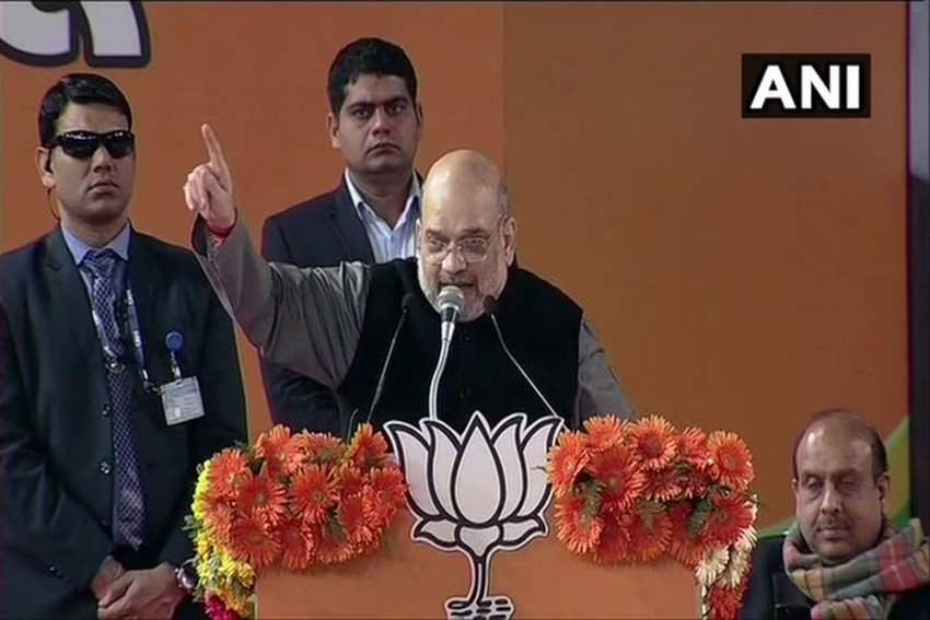 'You Can't Always Mislead People': Shah Takes Swipe At Kejriwal; Says BJP Will Form Govt In Delhi