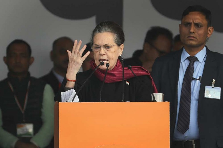 'Grim Reminder Of Extent Govt Will Go To Stifle Dissent': Sonia Gandhi On JNU Violence