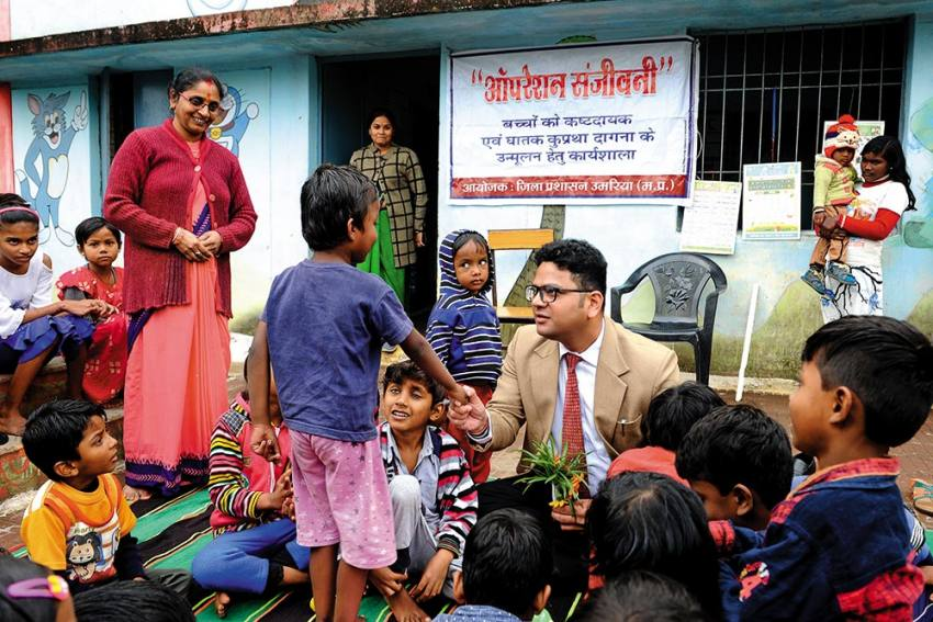 Nutrition Warriors | Hot Iron In A Child's Belly -- A District Collector's Fight Against Superstition In A MP District