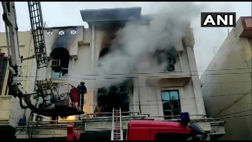 One Killed As Fire Breaks Out At Paper Factory In Delhi's Patparganj