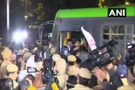Police Stop JNU Students, Demanding VC's Removal, From Marching Towards Rashtrapati Bhawan