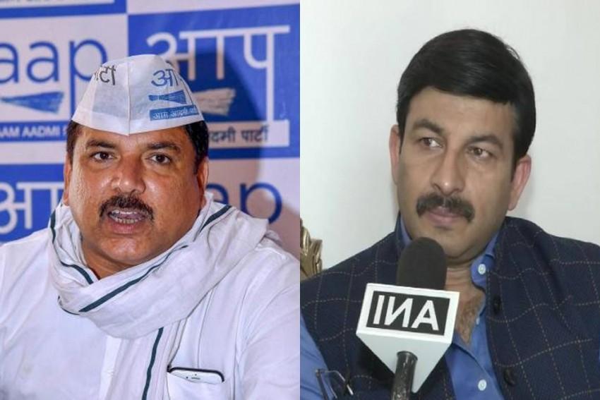 <em>'Tumse Na Ho Payega'</em>: AAP Tells BJP's Manoj Tiwari On Free Electricity Promise