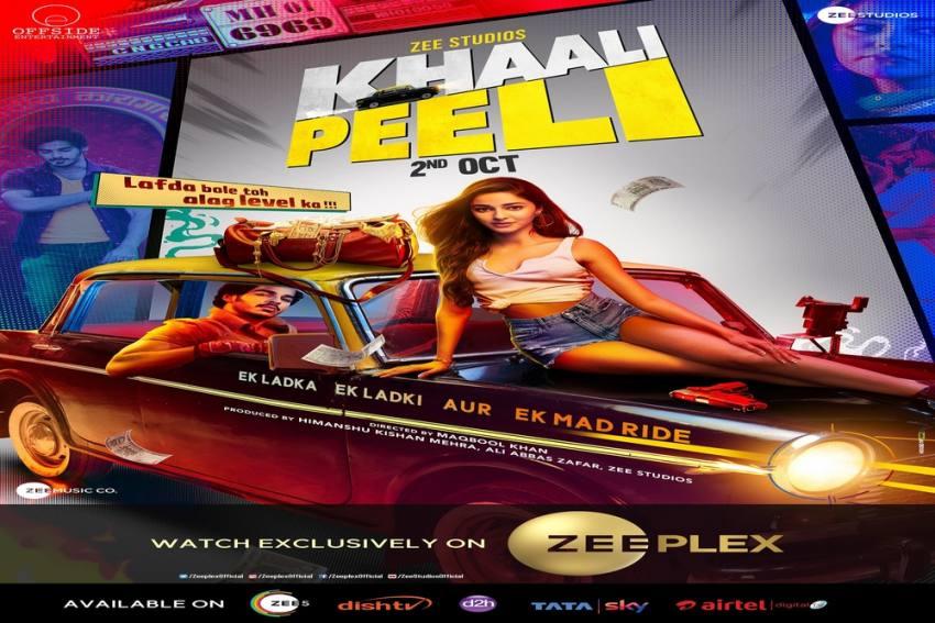 Khaali Peeli Movie To Release On Zee Plex On 2nd October
