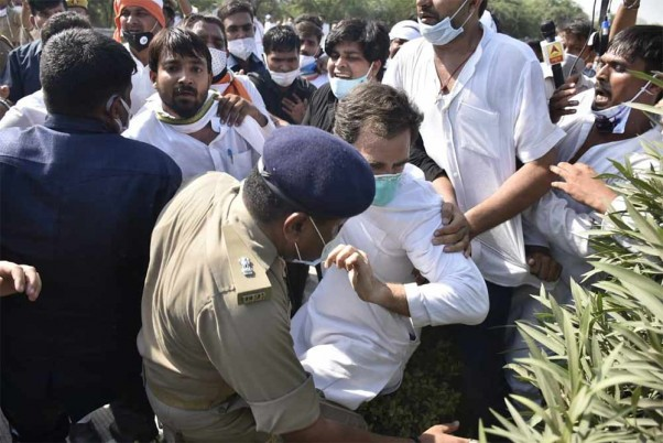 UP Congress Calls Statewide Protest Against Detention Of Party Leaders Rahul, Priyanka