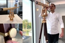 Watch: Five-Foot Tall Telescope Made From Chocolate Leaves Netizens Amused