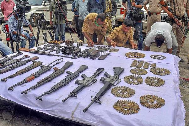 Suspicious Movement Detected Across LoC; Army Recovers 4 AK-74s, 240 Rounds