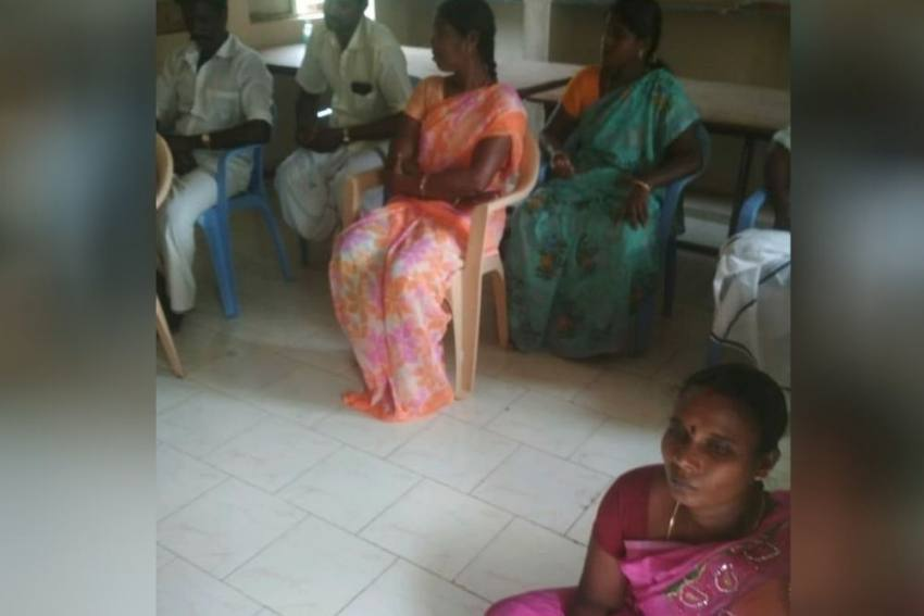 Dalit Woman President Made To Sit On Floor During Official Meeting