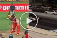 IPL 2020, RCB Vs KKR: Cars Stop As AB De Villiers Sixes Land On Sharjah Street - WATCH