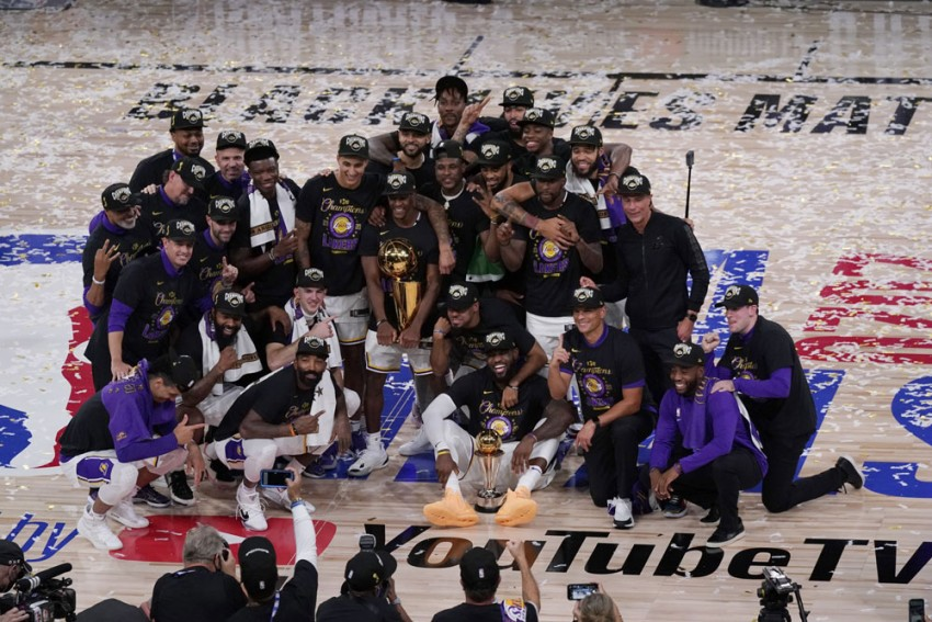 NBA Finals: LA Lakers End 10-year Wait For Title With Blow-out Win Over Heat