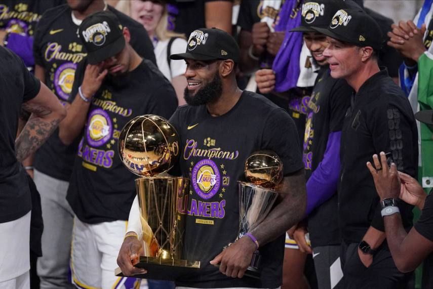 Nba Finals Just How Influential Has Lebron James Been In Each Of His Four Championship Wins