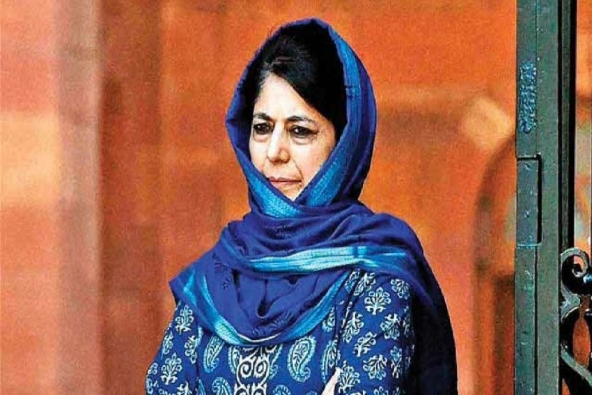 PDP Leader Mehbooba Mufti Freed