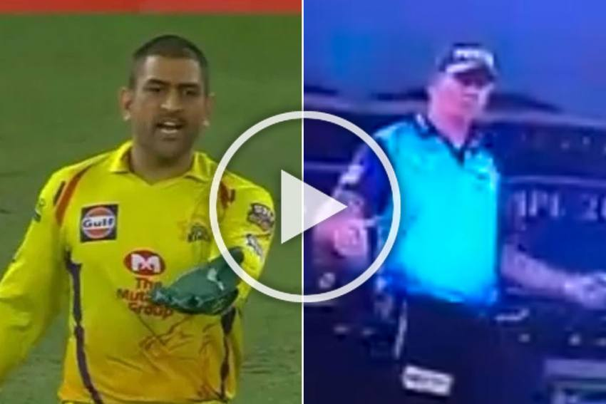 IPL 2020, SRH vs CSK: Did MS Dhoni Intimidate Umpire Paul Reiffel?