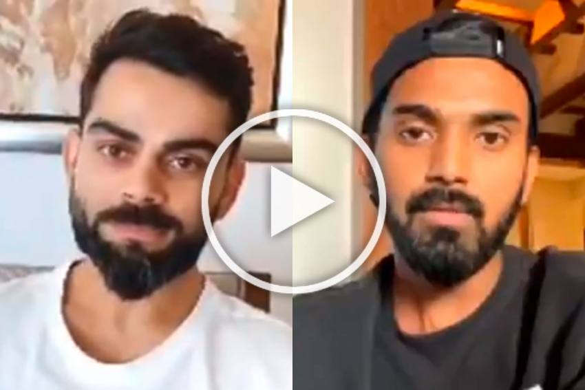 Virat Kohli, KL Rahul Troll Each Other In Epic Style Ahead Of Their IPL Match - WATCH