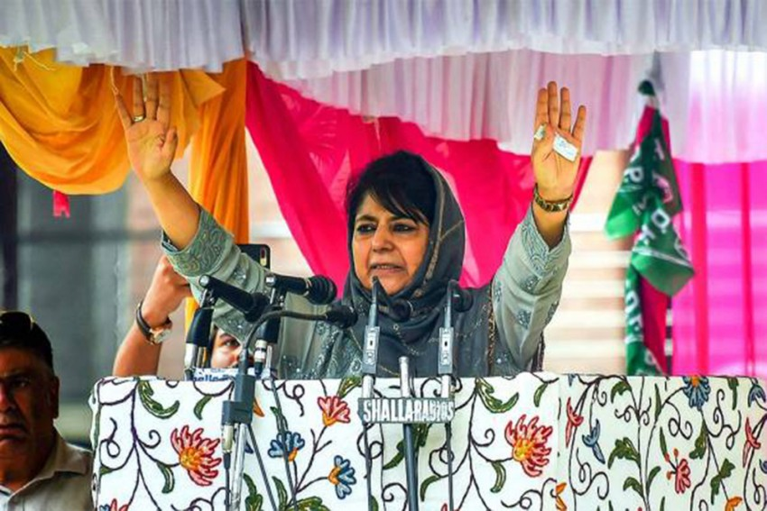 Will Fight For Restoration Of Article 370 In J&K: Mehbooba Mufti
