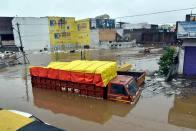 15 Die As Heavy Rains Lash Hyderabad, Telangana; People Asked To Stay Indoors