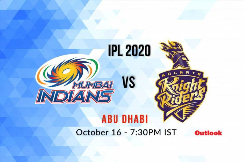 Cricket Live Streaming Of Mumbai Indians Vs Kolkata Knight Riders - Where To Watch IPL 2020 Live