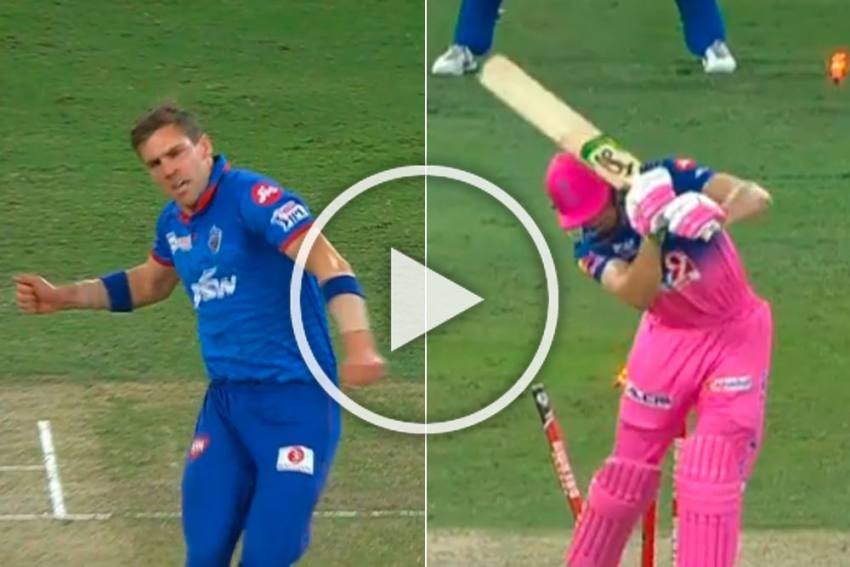 Anrich Nortje Breathes Fire As South African Bowls Fastest Delivery In IPL - WATCH The Historic Moment