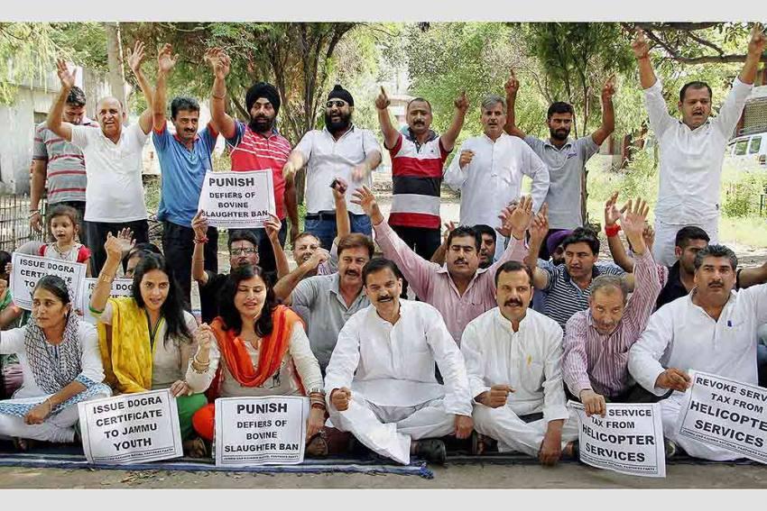 A Day After Gupkar Meet, Jammu Rally For Statehood