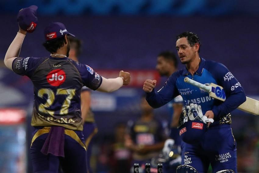 IPL 2020: Mumbai Indians Whip Kolkata Knight Riders After Quinton De Kock, Rohit Sharma Blitz - Highlights