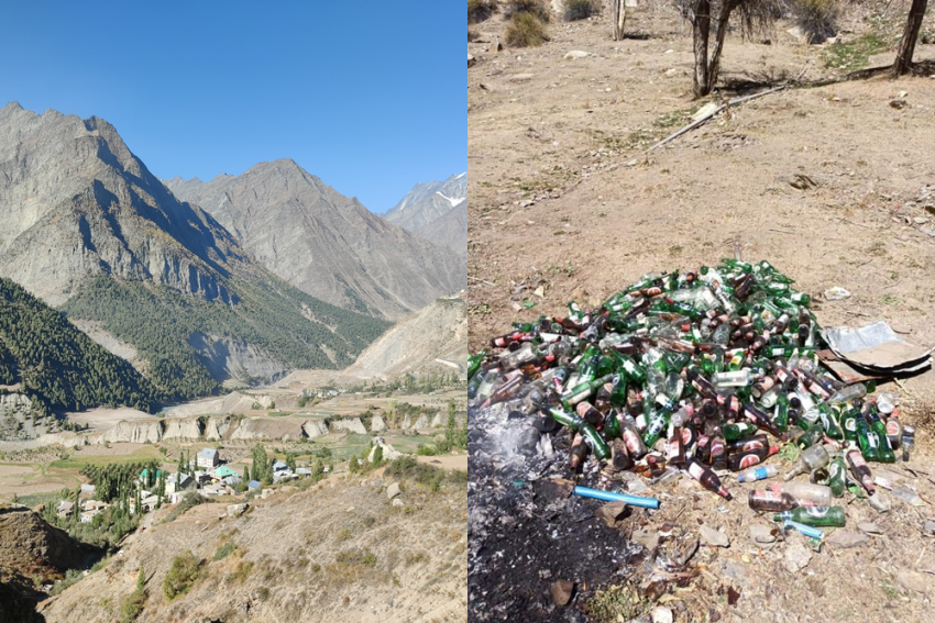 Rohtang Tunnel Leaves Filth In Its Wake