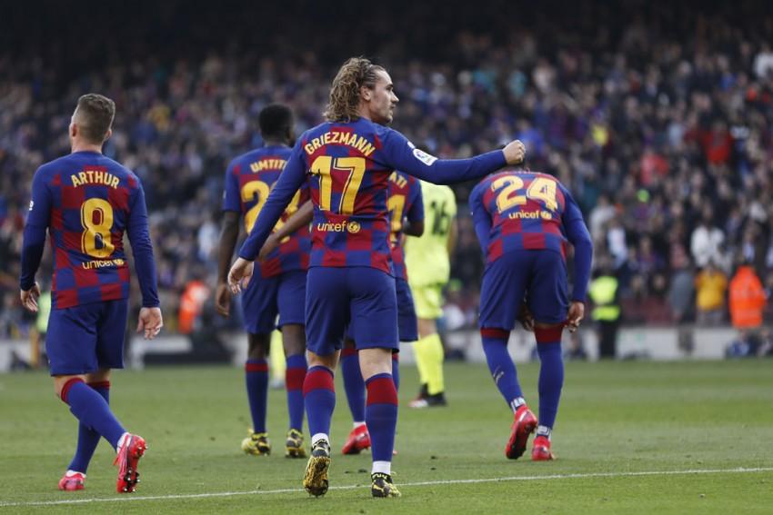 Ronald Koeman Won't Back Down On Antoine Griezmann's Barcelona Position