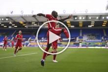 Everton Vs Liverpool: Sadio Mane Scores Reds' Fastest Premier League Derby Goal - VIDEO