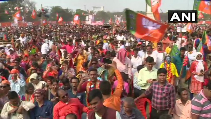 Farmer Dies Of Heart Attack During BJP's Public Rally