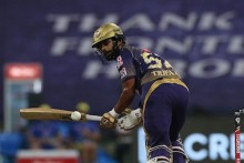 IPL 2020: KKR Batsman Rahul Tripathi Reprimanded For Breaching Code Of Conduct