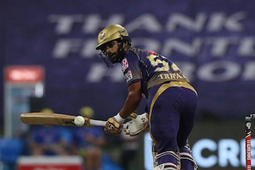 IPL 2020: KKR Batsman Rahul Tripathi Reprimanded For Breaching Code Of Conduct