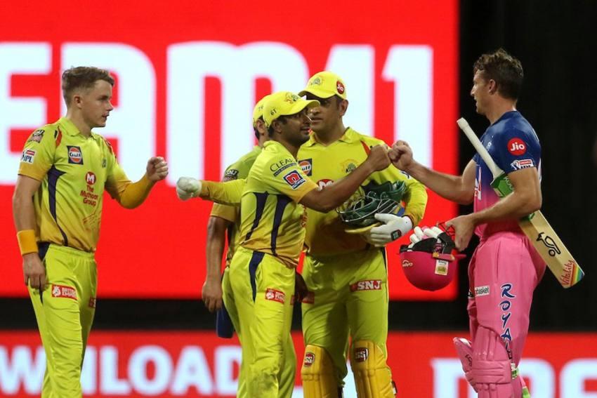 IPL 2020: Chennai Super Kings Vs Rajasthan Royals, Full Scorecard