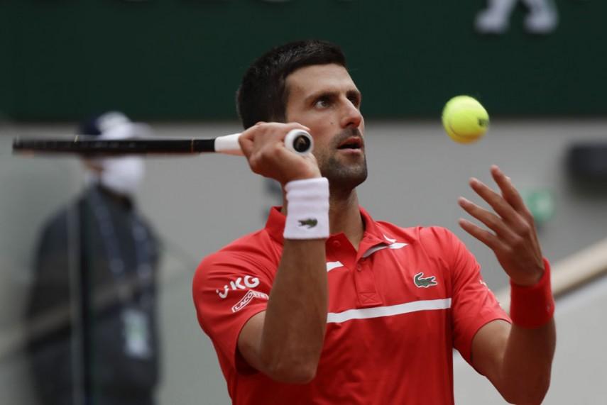 French Open 2020 Novak Djokovic Not Taking Dangerous Daniel Elahi Galan Lightly
