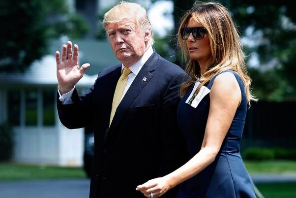 Donald Trump, Melania Test Positive For COVID-19