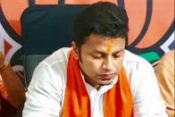 BJP Leader Who Allegedly Threatened Mamta  With 'Covid Hug' Tests Positive; Admitted Today