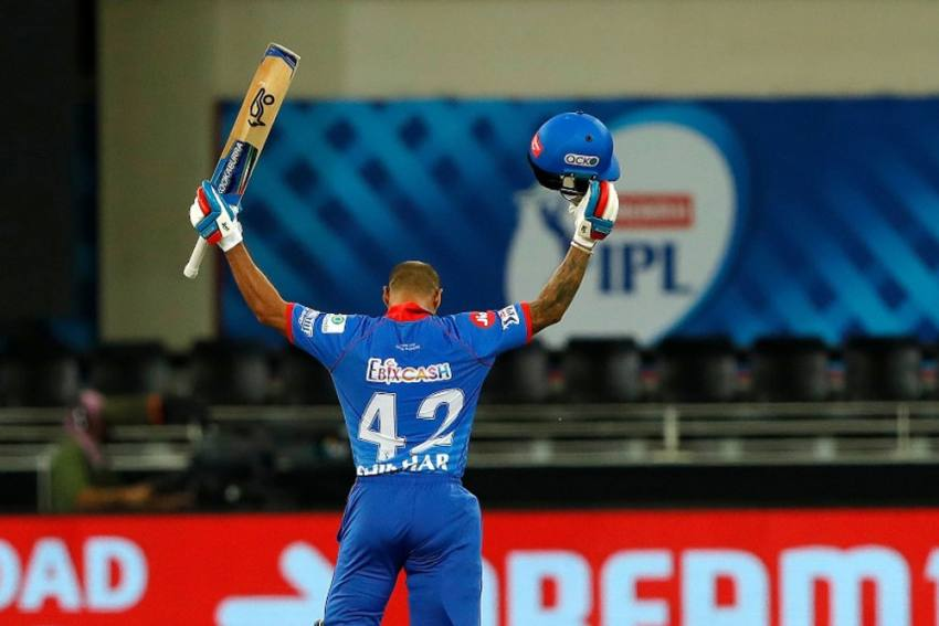 IPL: Record Making Shikhar Dhawan Roars With Back-To-Back Centuries For Delhi Capitals
