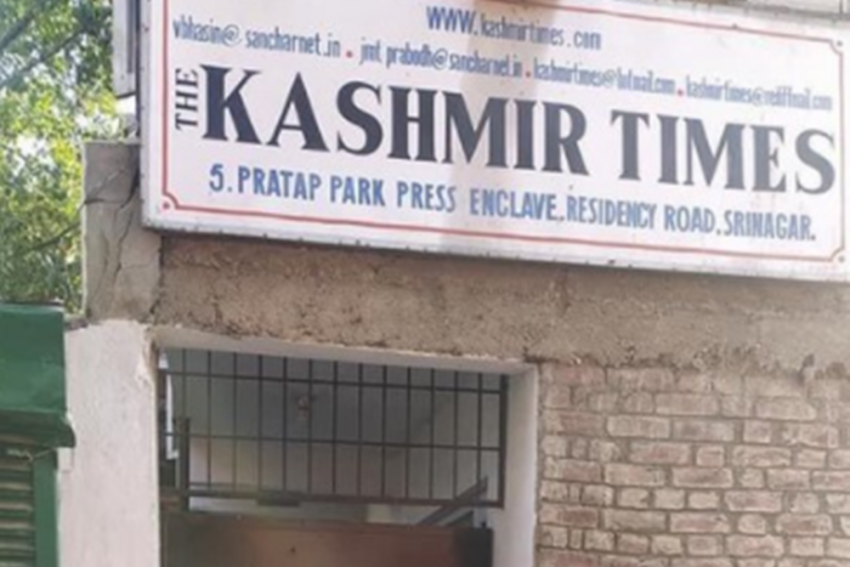 Kashmir Times Office Sealed, Editor Alleges Persecution