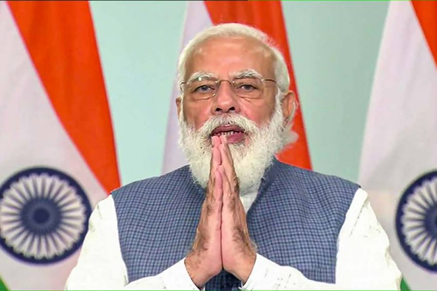 PM Narendra Modi To Address The Nation At 6 pm Today