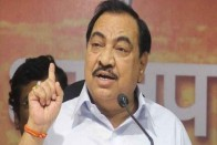 Senior BJP Leader In Maharashtra Eknath Khadse To Quit Party To Join NCP