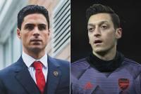 Mikel Arteta's 'Conscience Is Calm' After Leaving Mesut Ozil Out Of Premier League Squad